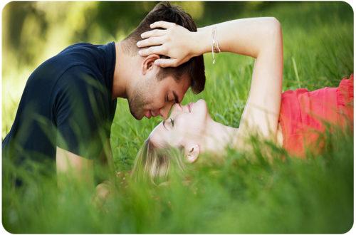 Гармоничные отношения между мужчиной и женщиной.