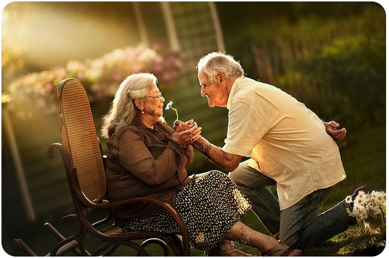 Гармоничные отношения в браке в возрасте